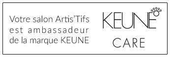 Artis'Tifs est embassadeur de la marque KEUNE CARE